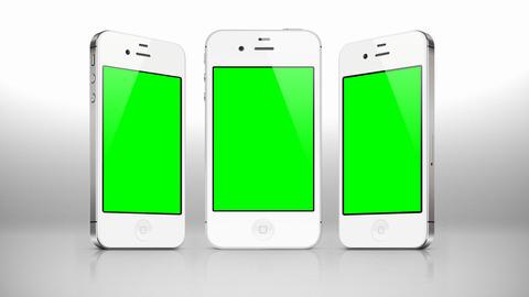 iphone Smartphone 4G Phone Advertisement presentation... Stock Video Footage