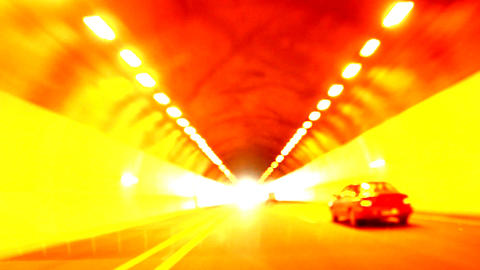 traffic driving transportation urban city night fast cars... Stock Video Footage