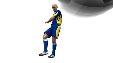 サッカー Animation