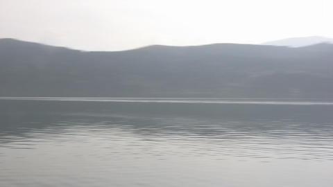 Alpine lake Footage
