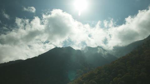 Kurobe dam in Summer Footage
