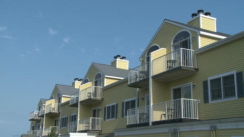 Yellow condominiums (1 of 1) Footage