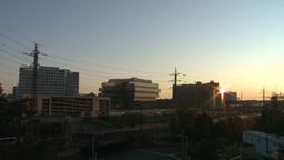 Stamford skyline night to dawn Time Lapse (5 of 5) Footage