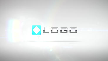 Elegant Corporate Business Logo Pieces Light Build After Effects Template