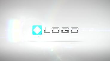 Elegant Corporate Business Logo Pieces Light Build stock footage
