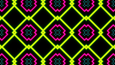 VJ Loop Abstract Neon 05 Animation