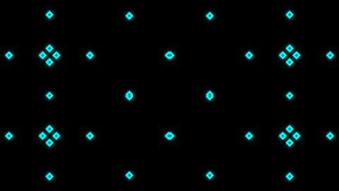 VJ Loop Abstract Neon 09 Stock Video Footage