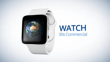 Watch 30s Commercial - After Effects Template After Effects Template