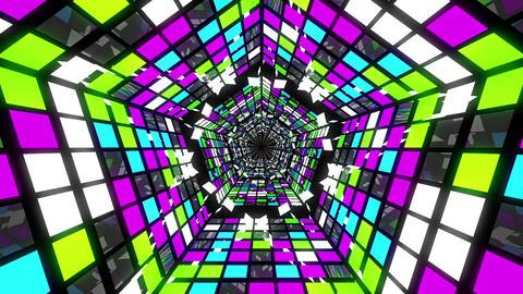 VJ Loops Pentagonal Tunnels 2