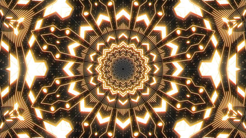 VJ Loop Abstract Warm Lights 01 Animation
