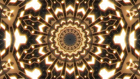 VJ Loop Abstract Warm Lights 01 Animation