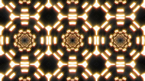 VJ Loops Abstract Warm Lights 2