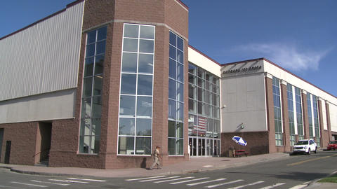 Ice Arena In Danbury, CT stock footage