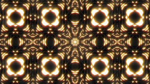 VJ Loop Abstract Warm Lights 11 Animation
