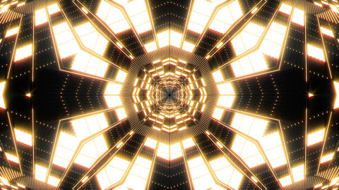 VJ Loop Abstract Warm Lights 12 Animation