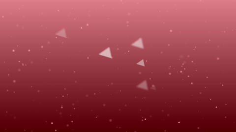Triangle And Particle Background #2-3 stock footage