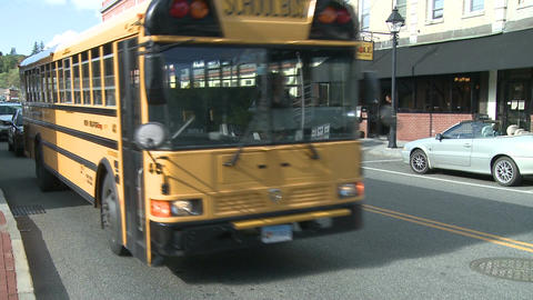 School bus pick-up (2 of 3) Footage