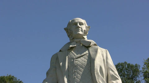 Sam Houston Statue And Monument Footage