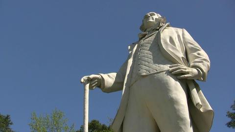 Sam Houston Monument In Huntsville Footage