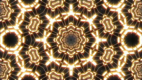 VJ Loop Abstract Warm Lights 14 Animation