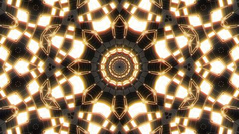VJ Loop Abstract Warm Lights 17 Animation