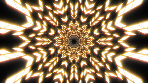 VJ Loop Abstract Warm Lights 19 Animation