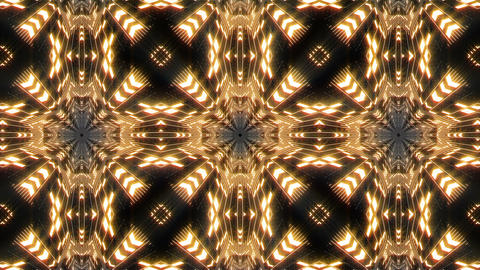 VJ Loop Abstract Warm Lights 20 Animation