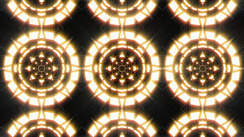 VJ Loop Abstract Warm Lights 24 Animation