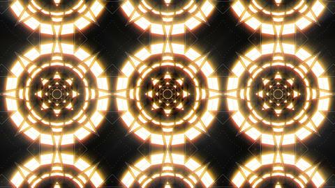 VJ Loop Abstract Warm Lights 24 Animation