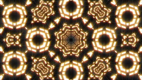 VJ Loop Abstract Warm Lights 28 Animation