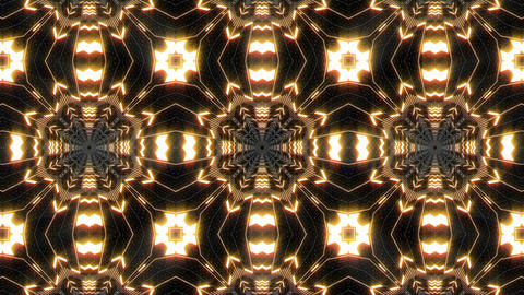 VJ Loop Abstract Warm Lights 30 Animation