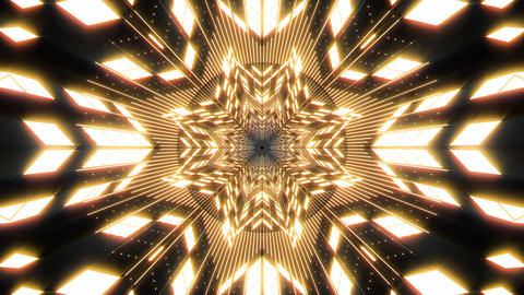 VJ Loop Abstract Warm Lights 31 Animation
