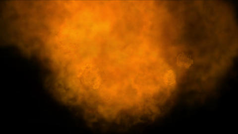 4k Hot Fire burning background,Abstract powerful particle smoke power energy Live Action