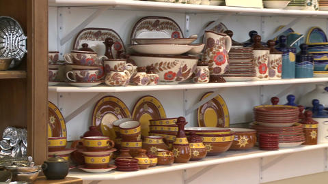 Fine china displays (1 of 1) Footage