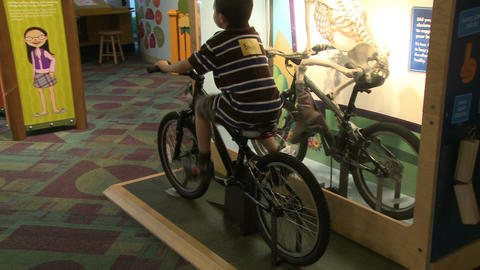 Children enjoying exhibits (3 of 9) Footage