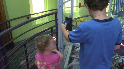 Children enjoying exhibits (8 of 9) Footage