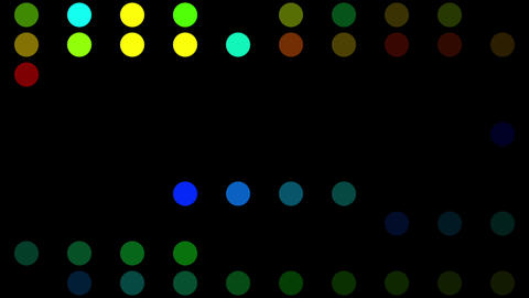 Color Circles Background #2 stock footage