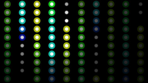 Color Circles Background #8 stock footage
