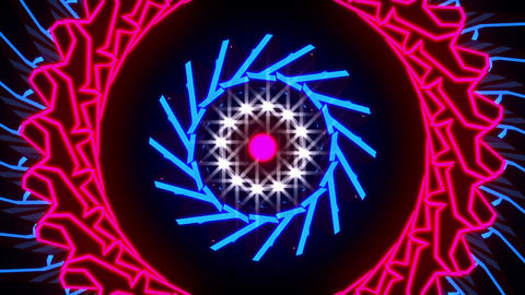 VJ Loop Red Star 1 Animation
