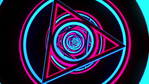 VJ Loop Triangles 1 Animation