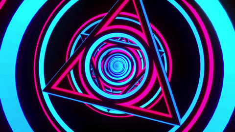 VJ Loop Triangles 3 Animation