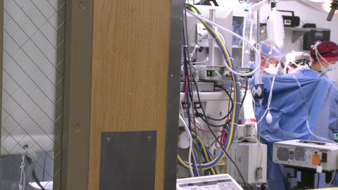 An inside peek at an operating room (2 of 2) Footage