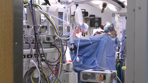 An inside peek at an operating room (1 of 2) Footage