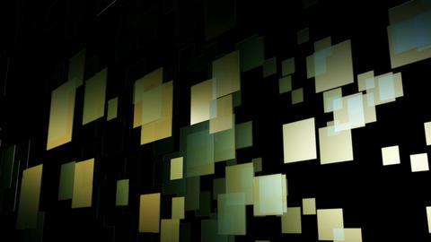 flying digital tiles Animation