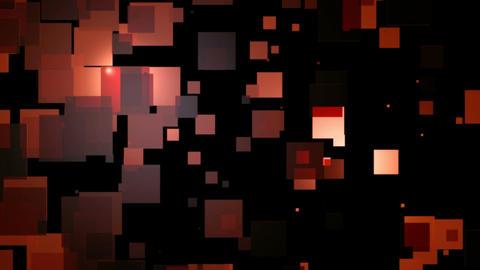 red block shine Animation