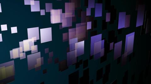 digital purple tiles Animation