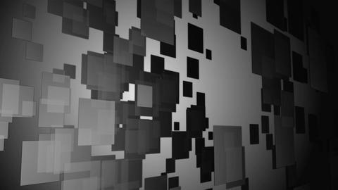 luminance flying square Animation