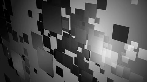 digital gray square Animation