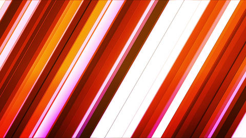 Broadcast Twinkling Slant Hi-Tech Bars, Red Magenta, Abstract, Loopable, HD Animation