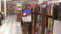 Inside a good bookstore (1 of 3) Footage
